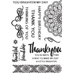 Kaisercraft - Bombay Sunset Collection - Clear Acrylic Stamps