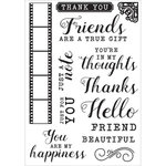 Kaisercraft - Keepsake Collection - Clear Acrylic Stamps