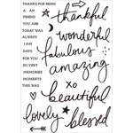 Kaisercraft - Daydreamer Collection - Clear Acrylic Stamps