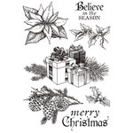 Kaisercraft - Christmas Edition Collection - Clear Acrylic Stamps