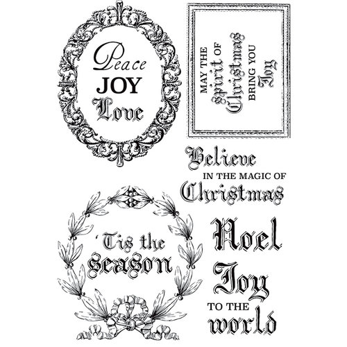 Kaisercraft - Letters to Santa Collection - Christmas - Clear Acrylic Stamps