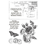 Kaisercraft - Rose Avenue Collection - Clear Acrylic Stamps