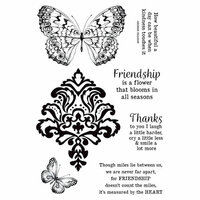 Kaisercraft - Romantique Collection - Clear Acrylic Stamps
