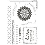 Kaisercraft - Miss Betty Collection - Clear Acrylic Stamps