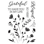 Kaisercraft - Full Bloom Collection - Clear Acrylic Stamps