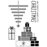 Kaisercraft - First Noel Collection - Christmas - Clear Acrylic Stamps