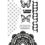 Kaisercraft - Scrap Studio Collection - Clear Acrylic Stamps