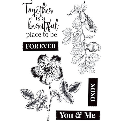 Kaisercraft - Everlasting Collection - Clear Acrylic Stamps