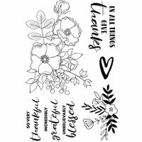 Kaisercraft - Blessed Collection - Clear Acrylic Stamps