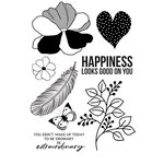 Kaisercraft - Breathe Collection - Clear Acrylic Stamps