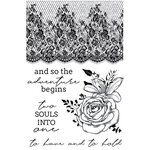 Kaisercraft - Two Souls Collection - Clear Acrylic Stamps