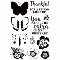 Kaisercraft - Paisley Days Collection - Clear Acrylic Stamps