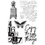 Kaisercraft - Antiquities Collection - Clear Acrylic Stamps