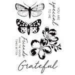 Kaisercraft - Morning Dew Collection - Clear Acrylic Stamps