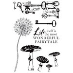 Kaisercraft - Enchanted Collection - Clear Acrylic Stamps