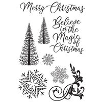 Kaisercraft - Christmas - Let It Snow Collection - Clear Acrylic Stamp