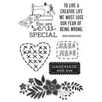 Kaisercraft - Crafternoon Collection - Clear Acrylic Stamps
