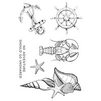 Kaisercraft - Uncharted Waters Collection - Clear Acrylic Stamps