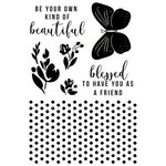 Kaisercraft - Amethyst Collection - Clear Acrylic Stamps