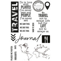 Kaisercraft - Explorer Collection - Clear Acrylic Stamps