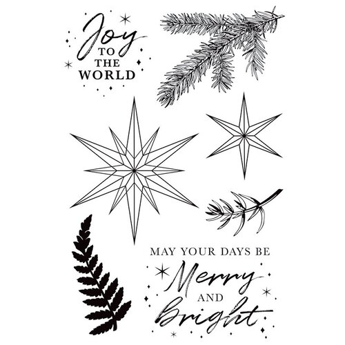 Kaisercraft - Emerald Eve Collection - Clear Acrylic Stamps