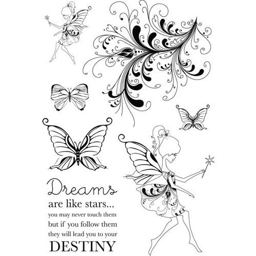 Kaisercraft - Magic Happens Collection - Clear Acrylic Stamps