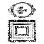 Kaisercraft - Chanteuse Collection - Clear Acrylic Stamps
