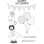 Kaisercraft - Party Animals Collection - Clear Acrylic Stamp