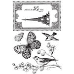 Kaisercraft - Bonjour Collection - Clear Acrylic Stamps