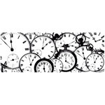 Kaisercraft - Timeless Collection - Clear Acrylic Stamps - Tic Toc