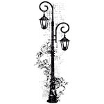 Kaisercraft - Timeless Collection - Clear Acrylic Stamps - Decorative Lamp