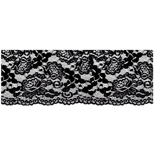 Kaisercraft - Timeless Collection - Clear Acrylic Stamps - Lace