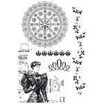 Kaisercraft - Madame Boutique Collection - Clear Acrylic Stamp