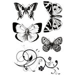 Kaisercraft - Tigerlilly Collection - Clear Acrylic Stamp
