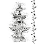 Kaisercraft - The Lakehouse Collection - Clear Acrylic Stamp