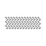 Kaisercraft - Texture - Clear Acrylic Stamp - Checker Plate