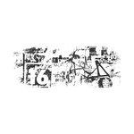 Kaisercraft - Texture - Clear Acrylic Stamp - Graffiti