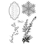 Kaisercraft - Just Believe Collection - Christmas - Clear Acrylic Stamp