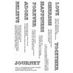 Kaisercraft - Secret Admirer Collection - Clear Acrylic Stamp - Definitions