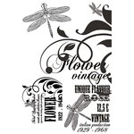 Kaisercraft - Lavender Haze Collection - Clear Acrylic Stamp