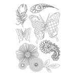 Kaisercraft - Elegance Collection - Clear Acrylic Stamp