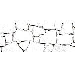 Kaisercraft - Texture - Clear Acrylic Stamp - Rocks