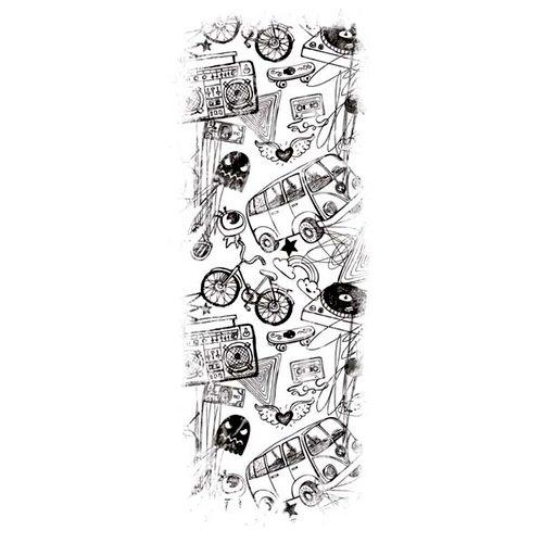 Kaisercraft - Texture - Clear Acrylic Stamp - Retro