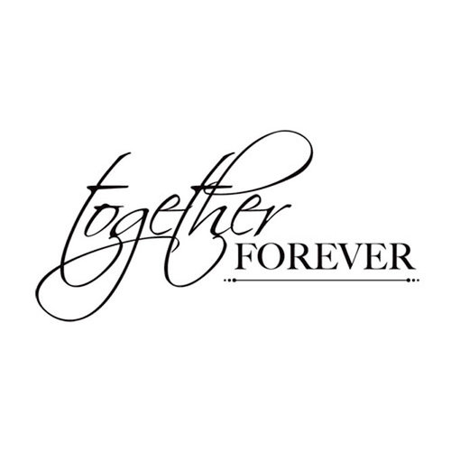Kaisercraft - Clear Acrylic Stamps - Mini - Together Forever