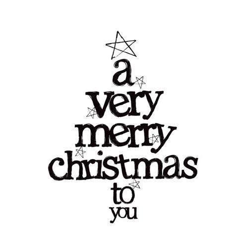 Kaisercraft - Clear Acrylic Stamps - Mini - A Very Merry Christmas