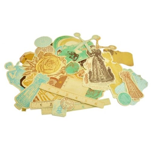 Kaisercraft - Madame Boutique Collection - Collectables - Die Cut Cardstock Pieces