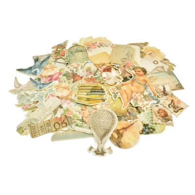 Kaisercraft - Sweet Nothings Collection - Collectables - Die Cut Cardstock Pieces