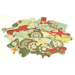 Kaisercraft - On the Move Collection - Collectables - Die Cut Cardstock Pieces