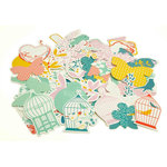Kaisercraft - Hummingbird Collection - Collectables - Die Cut Cardstock Pieces