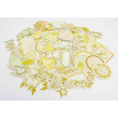 Kaisercraft - Lil' Primrose Collection - Collectables - Die Cut Cardstock Pieces